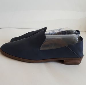 Lucky Brand Cahill Blue Soft Leather Loafers